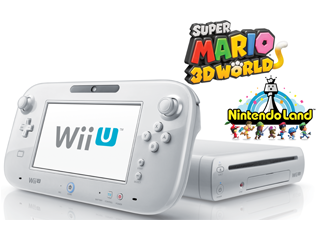 Refurb White Deluxe Wii U with Nintendo Land, SM3DW for ...