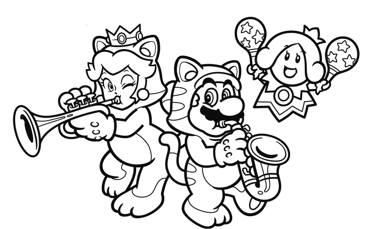 Nintendo Releases Another Set Of Coloring Book Pages Online