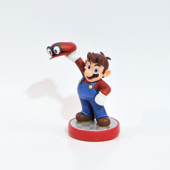 Fan Art Super Mario Odyssey Amiibo Gonintendo