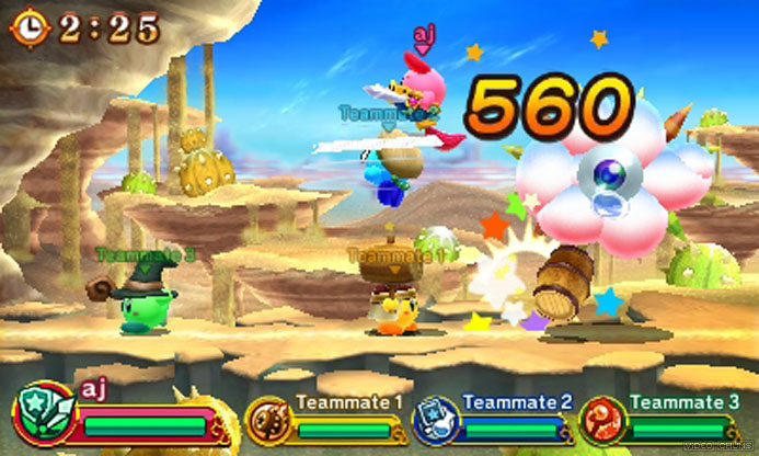 team kirby clash deluxe version 11 available gonintendo