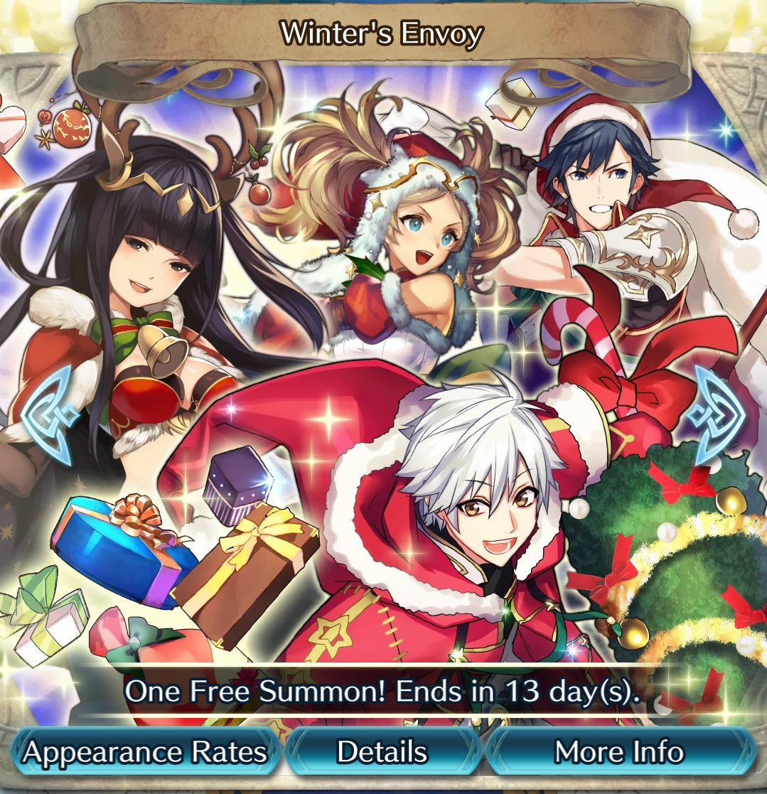 Fe Heroes Christmas.Fire Emblem Heroes Content Update For December 18 Gonintendo