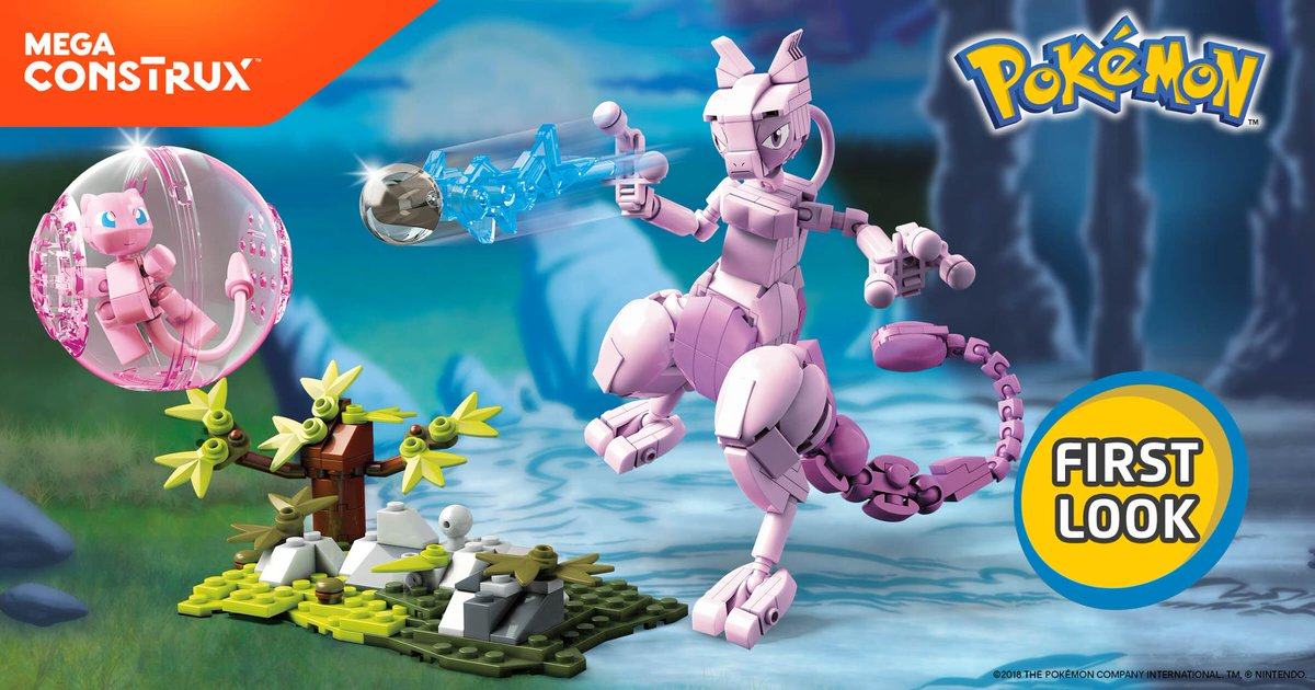 More Pokemon Themed Mega Construx Coming Out This Year Gonintendo
