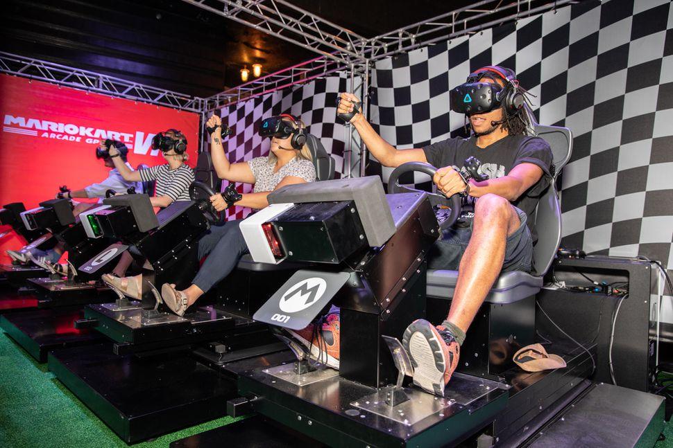 Mario Kart Vr Making Its U S Debut In Washington D C Gonintendo