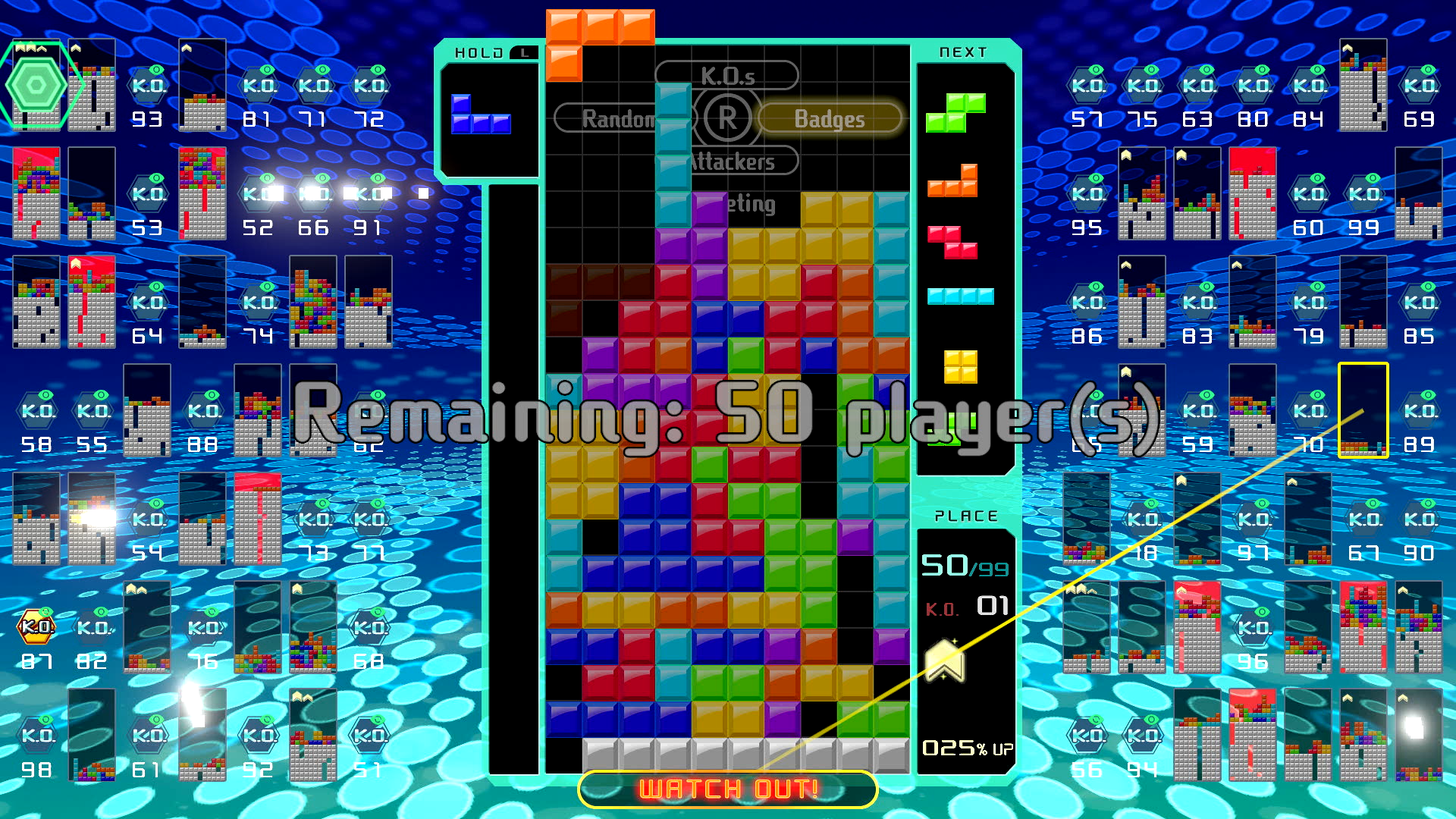Tetris 99 - look at the new original Nintendo themes