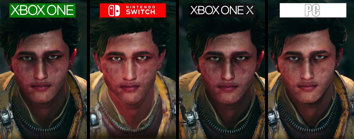 The Outer Worlds Switch Xbox One Xbox One X Pc Visual And Framerate Comparison Gonintendo