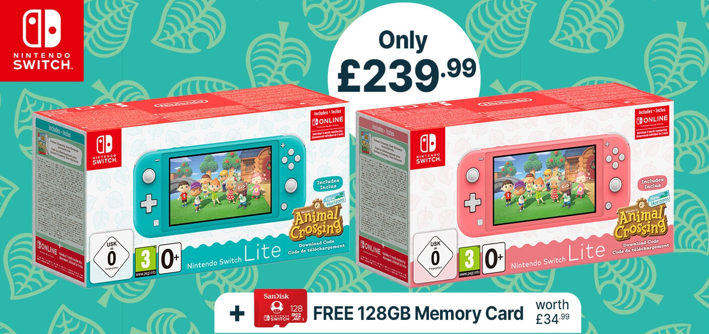 Nintendo UK store offering Switch Lite with Animal ...