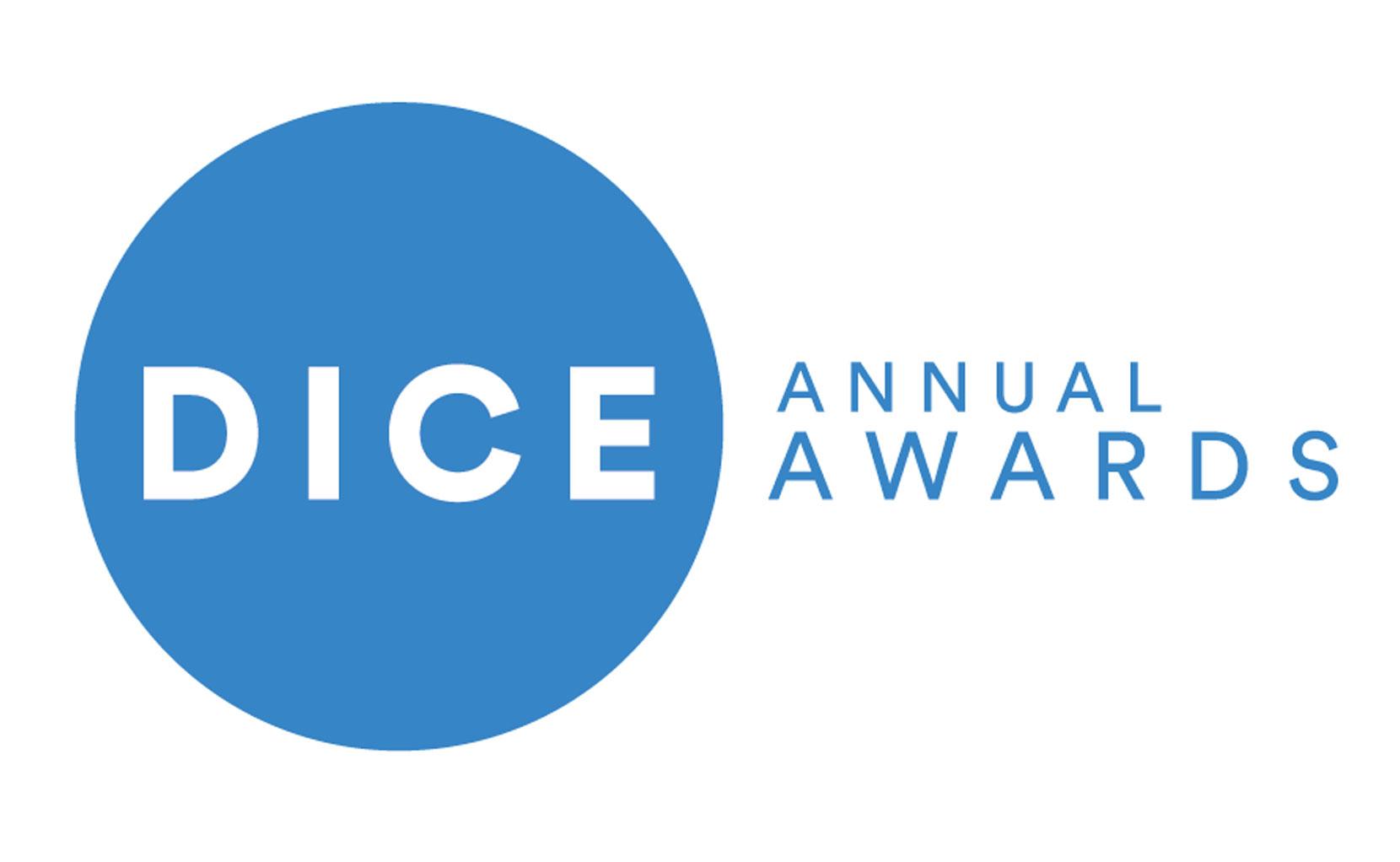 dice awards blue white.